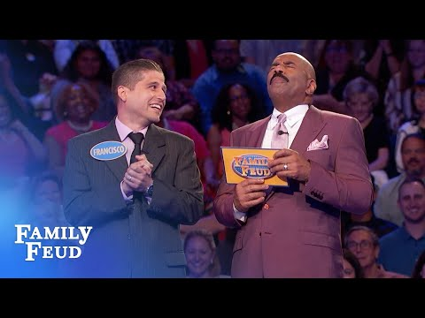 This answer made Steve Harvey STOP THE SHOW! | Family Feud