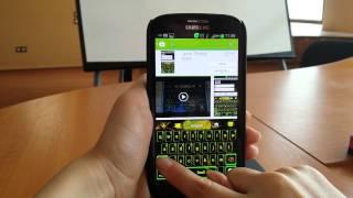 GO Keyboard Yellow Flame Theme YouTube video