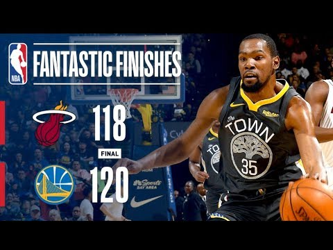 Video: Wild Finish In Oracle Between Heat & Warriors! | February 10, 2019