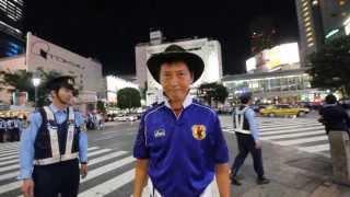 KNN 渋谷スクランブル交差点 W杯予選 2013