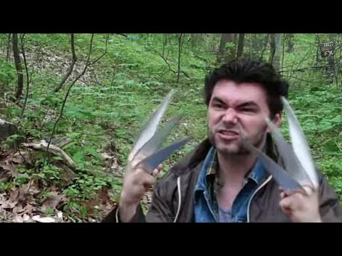 claws - Make your own set of Wolverine claws! Fast and CHEAP! Also, check out some behind the scenes of a really short film that we created for a FilmFights.com comp...
