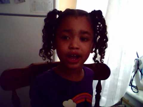 4yr old singing crazy people baby kaely