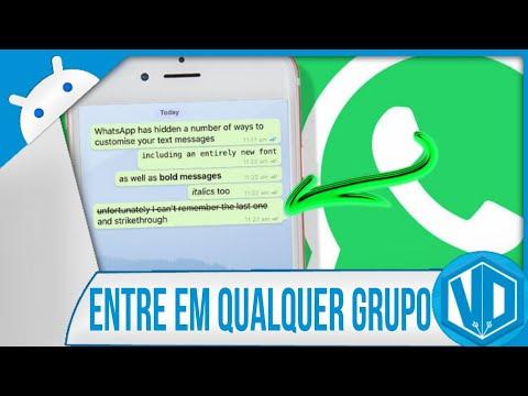 Baixar whatsapp - Entre em Qualquer Grupo do WhatsApp (SEM SER ADICIONADO)