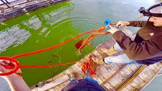 Video MAGNET FISHING OFF A DOCK WITH TWO 500LB PULL MAGNETS!!! HONEY HOLE MP3, 3GP, MP4, WEBM, AVI, FLV Agustus 2018
