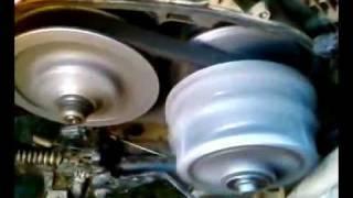 7. Kawasaki 360 loose belt