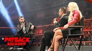 """Nonton """"Miz TV"""" with special guest Finn Bálor: WWE Payback 2017 Kickoff Film Subtitle Indonesia Streaming Movie Download"""
