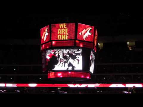 Phoenix Coyotes 2013 Intro Video