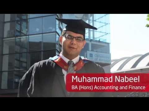 INTO Manchester Alumnus Graduation at Manchester Metropolitan University - Muhammad Nabeel