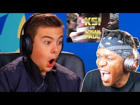 KSI REACTS TO \