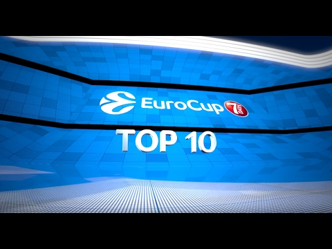 7DAYS EuroCup Top 10 plays of the Top 16!