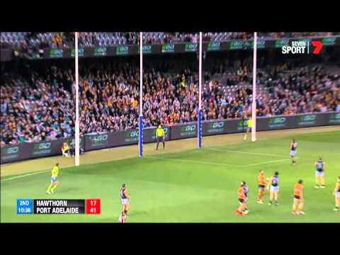 Round 21 - Afl Hawthorn V Port Adelaide Highlights