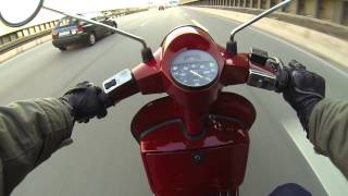 7. Vespa PX 221 - Second Test