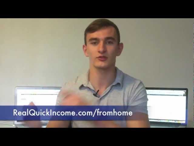 How To Make Extra Money From Home - $200-$300/Day EASY!