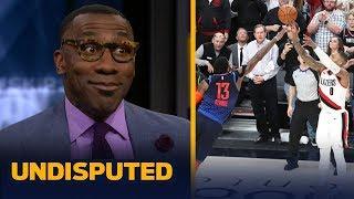 Damian Lillard was 'spectacular' dropping 50 & the series-winner — Shannon Sharpe | NBA | UNDISPUTED