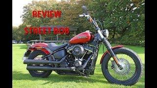 8. 2018 Harley Davidson Softail Street Bob Review