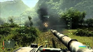 Video Very Beautiful Tank Battle from Epic FPS Game on PC Crysis 2007 MP3, 3GP, MP4, WEBM, AVI, FLV Maret 2019