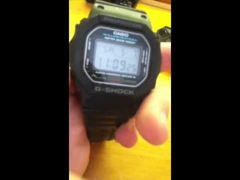 DW 5600 - I review a 5600.