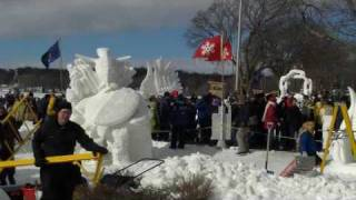 Lake Geneva (WI) United States  City new picture : #22,...2010 US National Snow Sculpting Competition, Lake Geneva Wi.