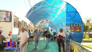 A Universidade Federal da cidade revelou que a temperatura em um dos pontos de ônibus mais novos da cidade pode varias até...