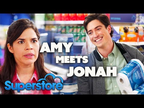 AMY Meets JONAH | Superstore | Comedy Bites
