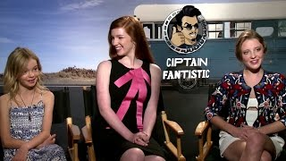 Nonton Exclusive  Samantha Isler  Annalise Basso   Shree Crooks Interview   Captain Fantastic  2016  Film Subtitle Indonesia Streaming Movie Download