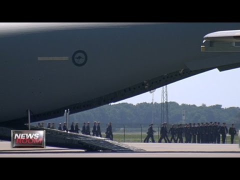 First MH17 bodies arrive in Netherlands