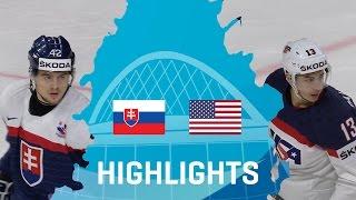 Словакия - США 1-6