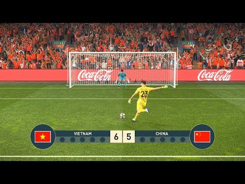Vietnam Vs China - Penalty Shootout - Pes19
