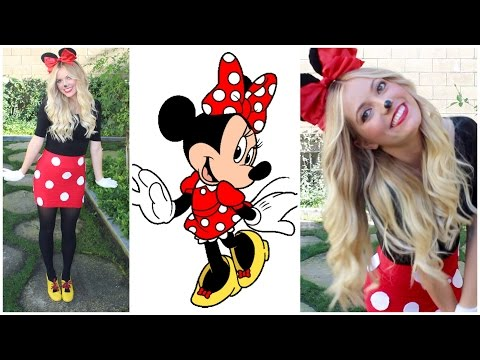 Minnie Mouse DIY Halloween Costume! Style By Dani