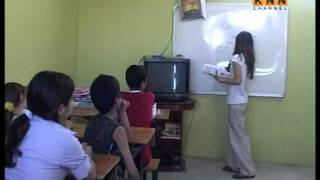 KNN Channel A Kurdish Girl As A Teacher In North Kurdistan- Mamosta Midya 12 Years Old