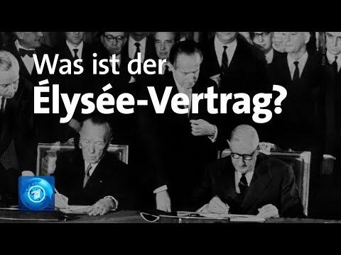 Was ist der Élysée-Vertrag?