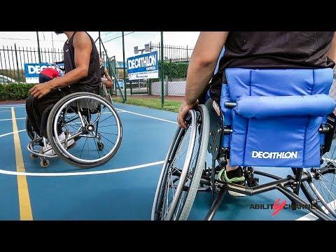 Decathlon, carrozzine sportive per chi voglia avvicinarsi allo sport