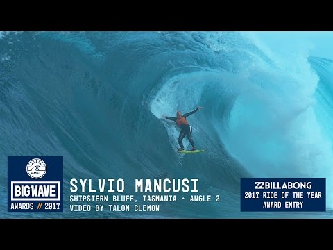 Sylvio Mancusi at Shipstern Bluff 2  - 2017 Billabong Ride of the Year Entry - WSL Big Wave Awards