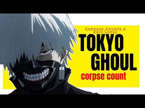 Tokyo Ghoul Season One (2014) Carnage Count x Erik Lopez