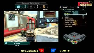 [Ep#11] ORIGINAL SOLDIERZ - GIANTS! vs GT's Unlimited - Map 2