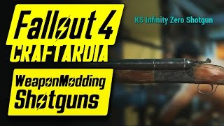 Fallout 4 Weapon Customization - Shotguns Modding - Fallout 4 Shotguns Mods [CRAFTARDIA] [PC]