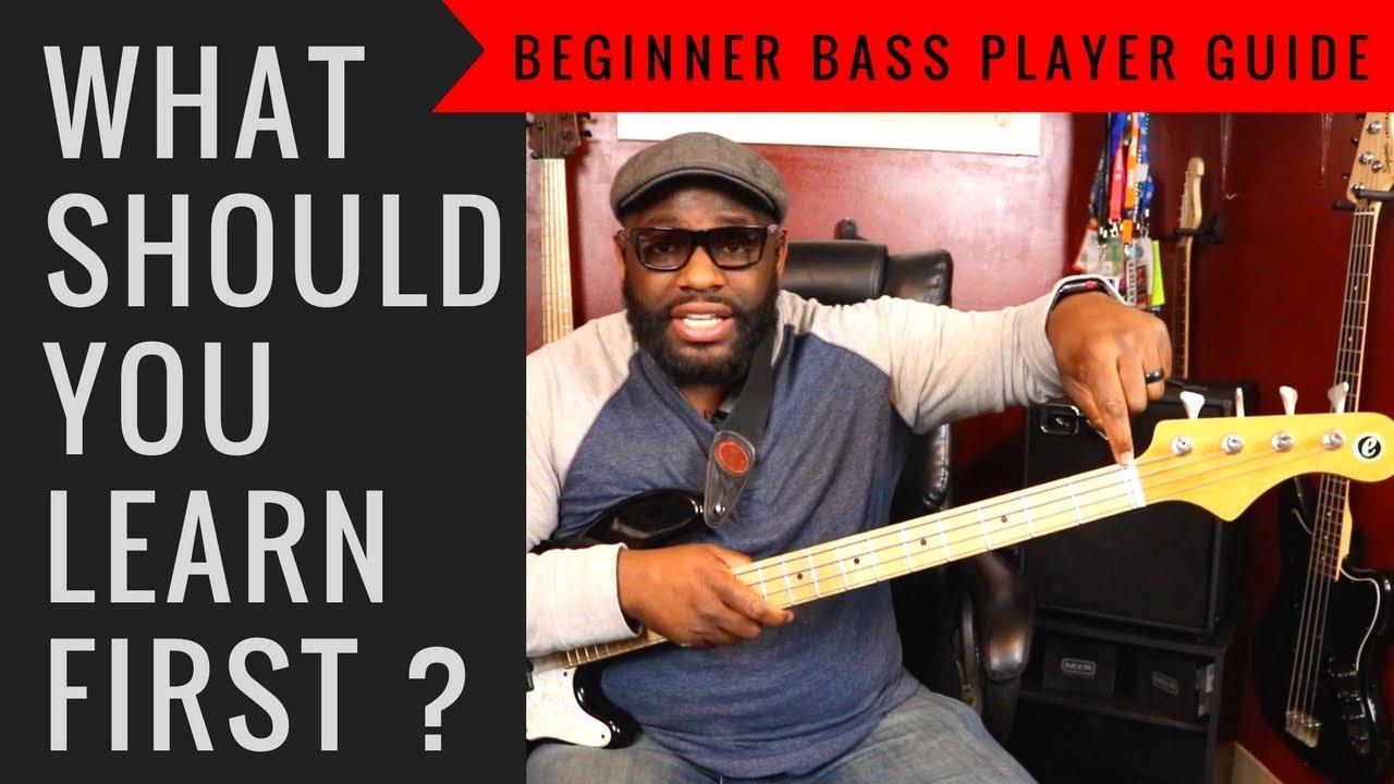 Beginner Bass Guitar Tips | What should you learn first? ~ Daric Bennett's Bass Lessons