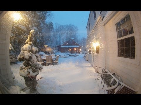 Time-Lapse Videos of Winter Storm Nemo – It's a Marshmallow World in the Winter!
