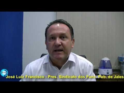 Jales - EXCLUSIVO - José Luiz Presidente do Sindicato dos Funcionários Públicos de Jales, fala sobre o polêmico assunto do 14º salário do Funcionalismo Público.
