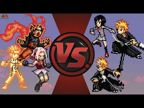 Naruto VS Ichigo | DEATH BATTLE. . . But Its Animated In SethTheProgrammer's Imagination.