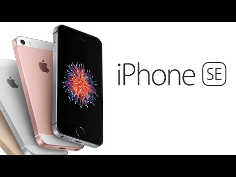 An iPhone SE Parody Commercial