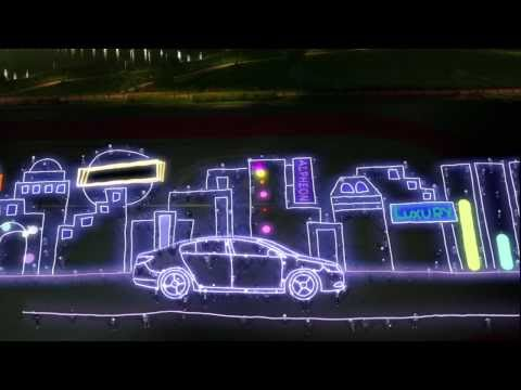 Huge Light Drawing
