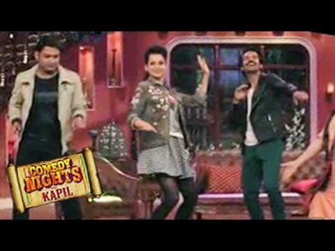 Kangana Ranaut on Comedy Nights with Kapil 8th March 2014 EPISODE