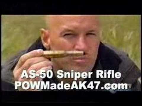 AS50 - Post comments @ http://powmadeak47.blogspot.com .... More money wasted developing a new sniper rifle when America has a great one they could buy now. welcome...