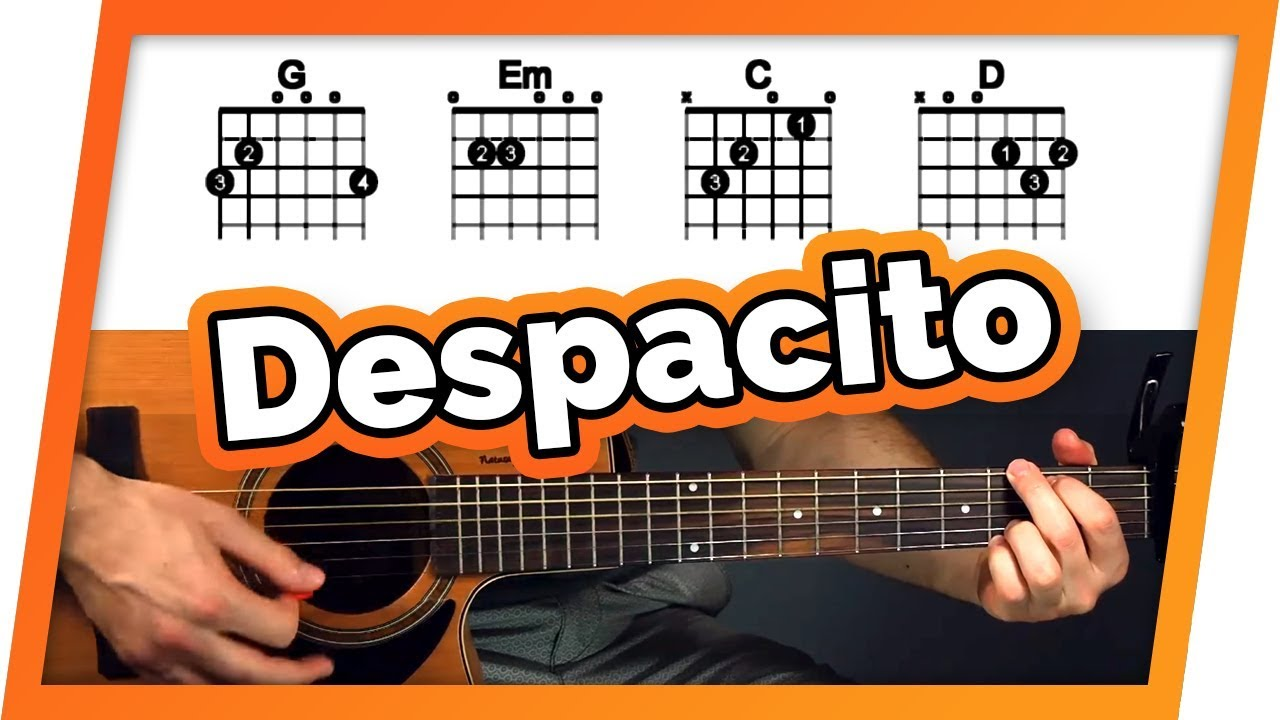 Despacito Guitar Tutorial (Lesson) – Easy Chords For Beginners
