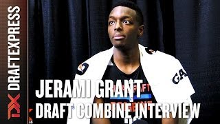 Jerami Grant Draft Combine Interview