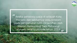 Kaleidoskop Cuaca 2019 untuk Wilayah Kota Manado