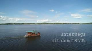 Video 3 Hausboot Vermietung Bolle in Brandenburg und Berlin