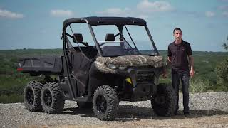 10. Breaking Down the All-New 2020 Can-Am Defender 6x6 DPS UTV