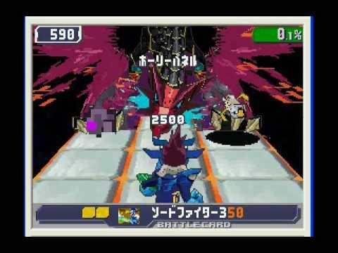Ryuusei no Rockman 3: Black Ace: FINAL BOSS and credits!